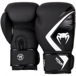 Guantes de boxeo Venum Contender 2.0 Negro/Gris/Blanco