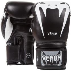 Guantes de boxeo Venum Giant 3.0 Cuero Negro/Blanco
