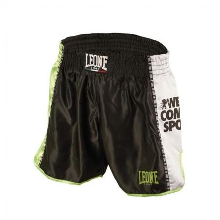 Pantalon Muay Thai Leone Negro AB760