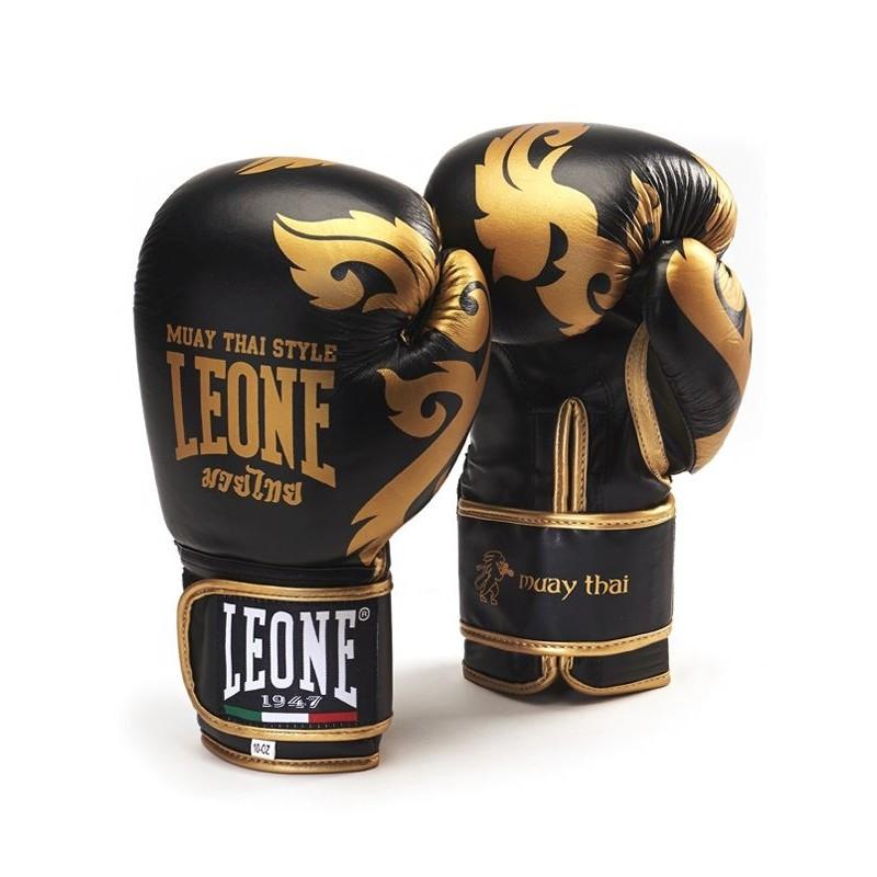 Guantes boxeo Leone Muay thai negro