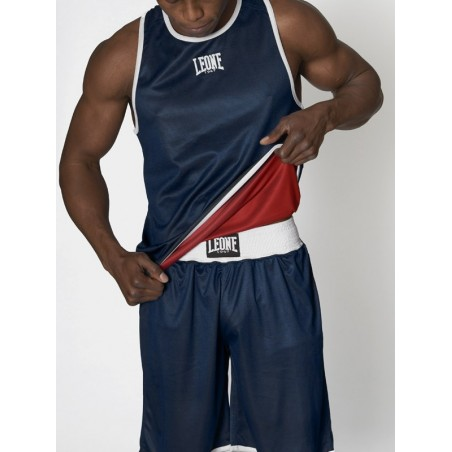 Camiseta de boxeo Leone AB214 Reversible
