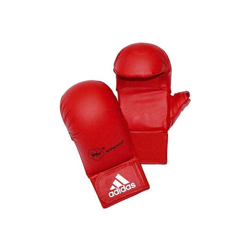 Guantillas karate Adidas roja