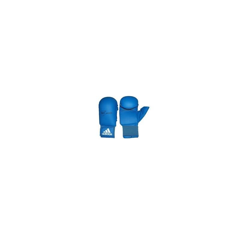 Guantillas karate Adidas azul