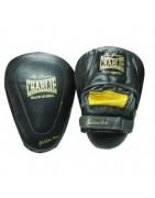 Manoplas , paos y escudos de boxeo